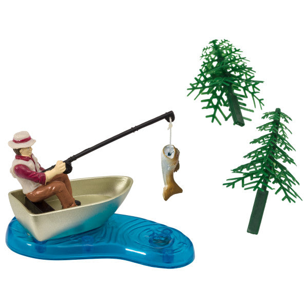Fisherman with Action Fish DecoSet®
