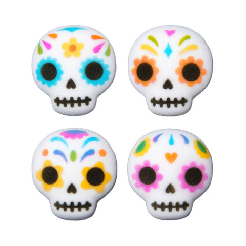 Day of The Dead Skulls Dec-Ons® Decorations