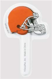 NFL Cleveland Browns DecoPics Cake Picks (12 count)