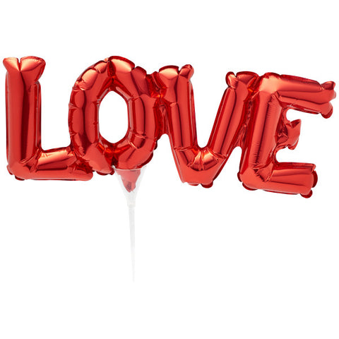 Inflatable Red LOVE Anagram® Cake Pic