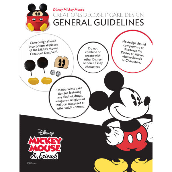 Mickey Mouse Creations DecoSet®