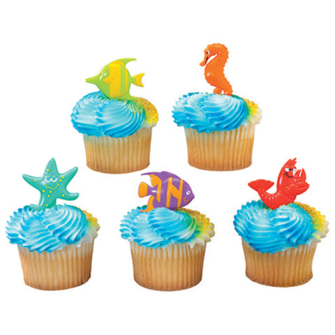 A Birthday Place - Cake Toppers - Sealife Friends DecoPics®