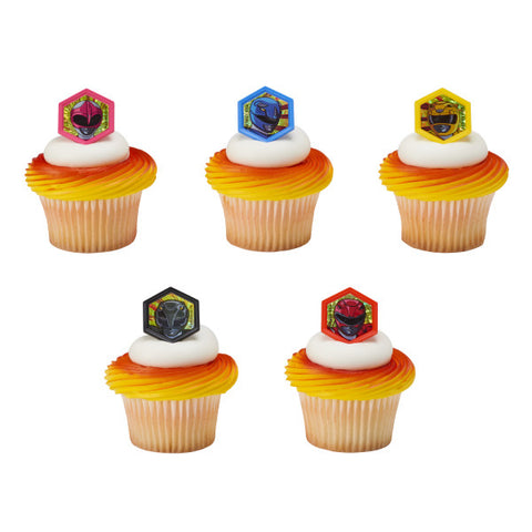 A Birthday Place - Cake Toppers - Power Rangers Morphinominal Cupcake Rings