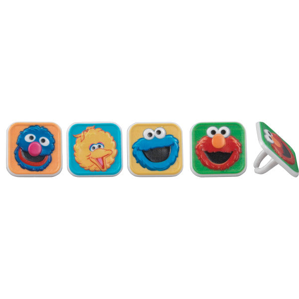 Sesame Street® Bright & Fun Cupcake Rings
