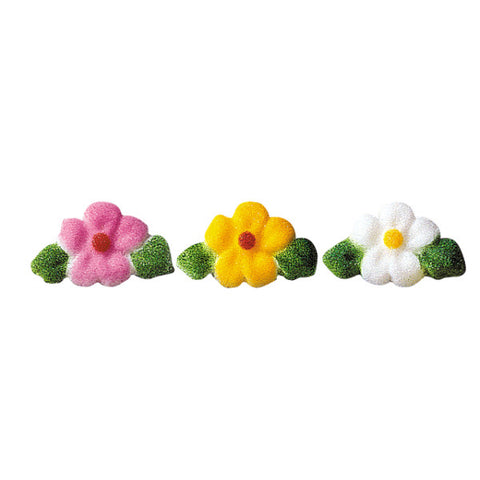 Leafed Flower Charms Assortment Dec-Ons® Decorations