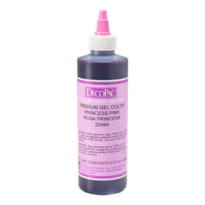 DecoPac Princess Pink Premium Gel Color