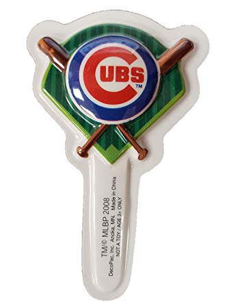 MLB Chicago Cubs DecoPics Cake Picks (11 count)