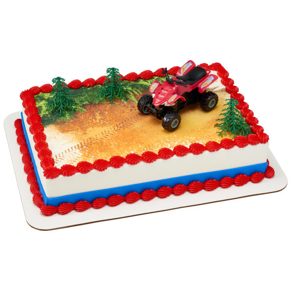 ATV Edible Cake Topper DecoSet® Background