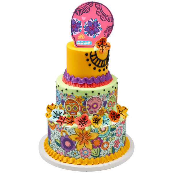 Outstanding Fiesta Spirit Edible Cake Topper Image A Birthday Place Funny Birthday Cards Online Bapapcheapnameinfo