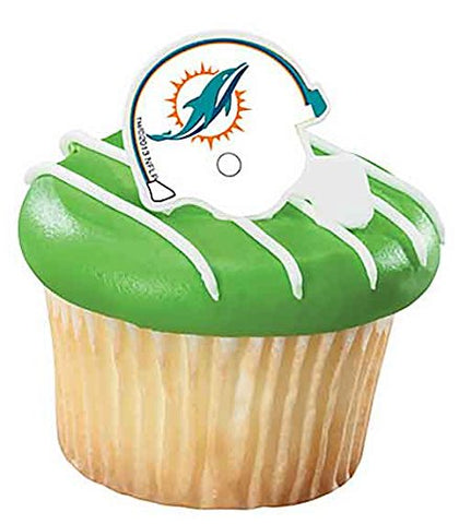 NFL Miami Dolphins Cake Rings (12 count)