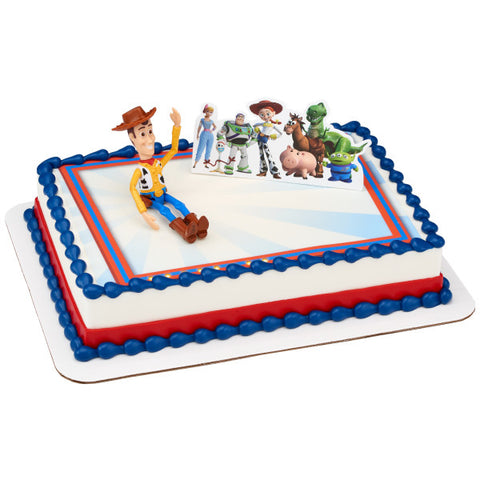 Disney/Pixar Toy Story 4 Team Toy PhotoCake® Edible Image® DecoSet® Background