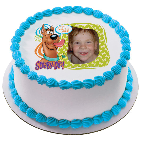 Scooby Doo Photobomb Edible Cake Topper Frame A Birthday Place