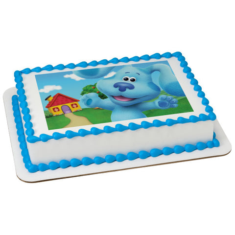 Blue's Clues & You! Blue Edible Cake Topper Image
