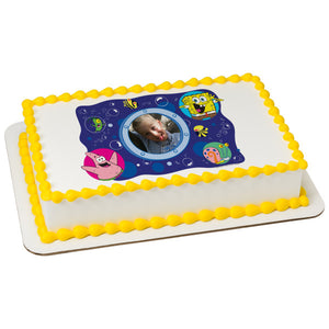 SpongeBob SquarePants™ Bubbles Edible Caker Topper Frame