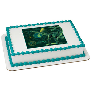 Jurassic World 2-Tracker Edible Cake Topper Image