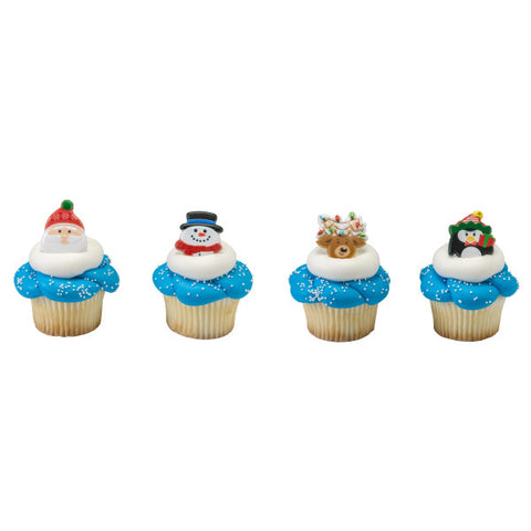 Holiday Icon Cupcake Rings