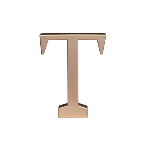 A Birthday Place - Cake Toppers - Letter T Monogram