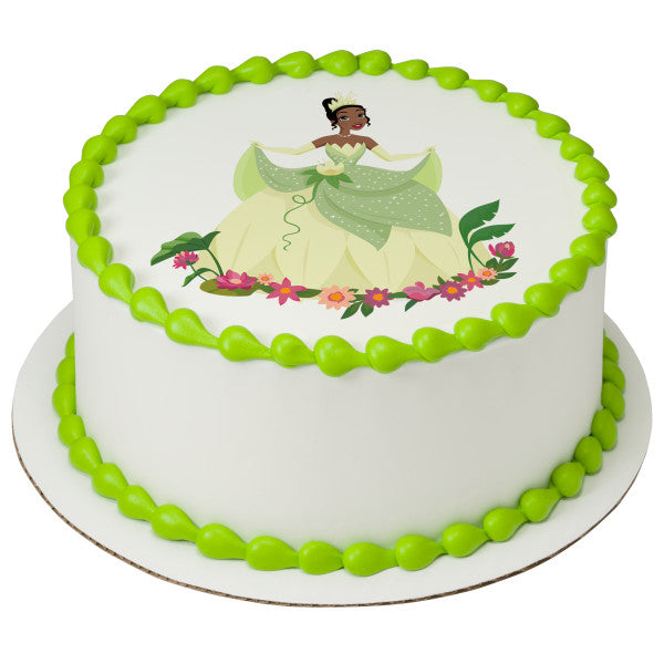 Peachy Disney Princess Tiana Edible Cake Topper Image A Birthday Place Funny Birthday Cards Online Aeocydamsfinfo