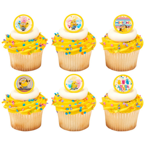 Despicable Me™ Celebrations Cupcake Rings