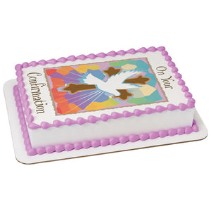 A Birthday Place - Cake Toppers - On Your Confirmation Edible Cake Topper Image