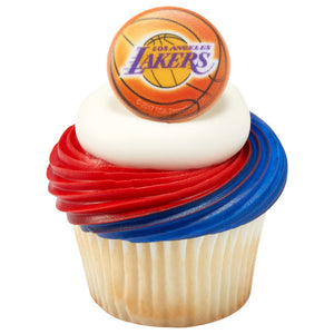 NBA Los Angeles Lakers Cupcake Rings