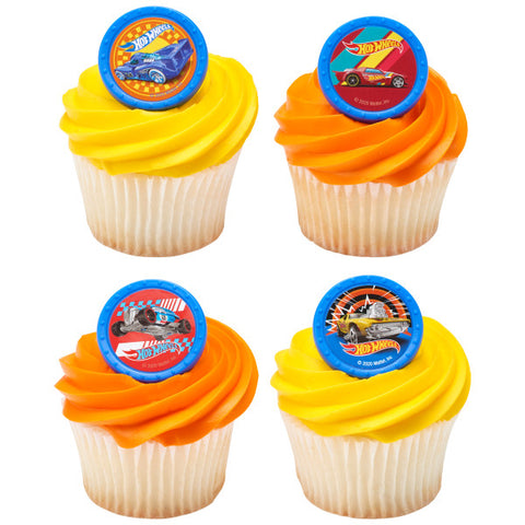 Hot Wheels™ Challenge Accepted Cupcake Rings