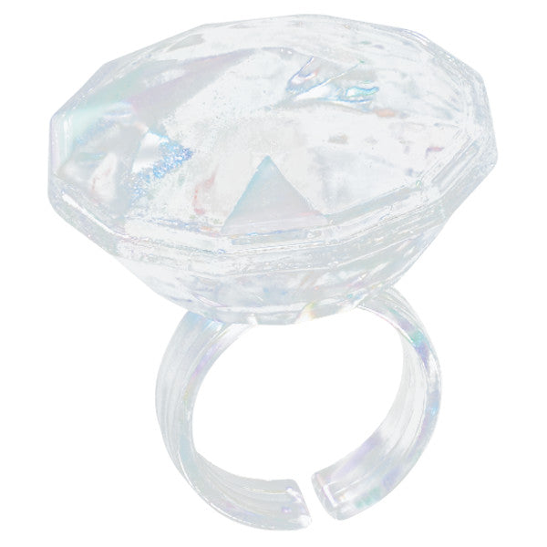 Iridescent Diamond Cupcake Rings