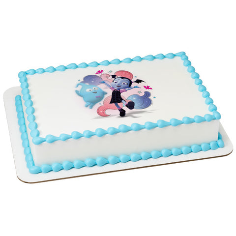 Vampirina Fantastical Friends! Edible Cake Topper Image