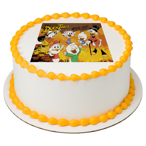Duck Tales-Woo-oo! Edible Cake Topper Image – A Birthday Place