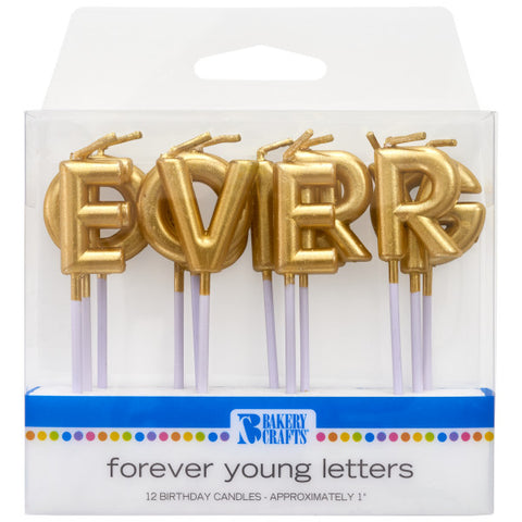 Gold Forever Young Specialty Candles