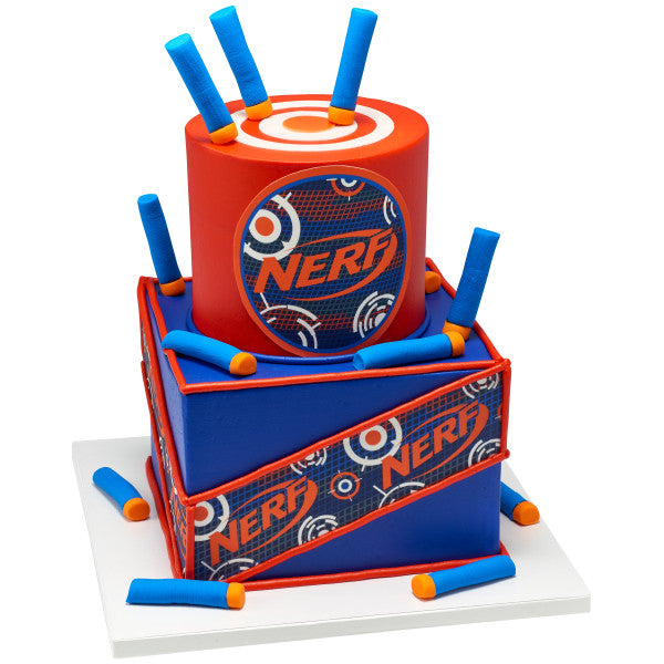 Nerf-Bring the Noise Edible Cake Topper Image Strips