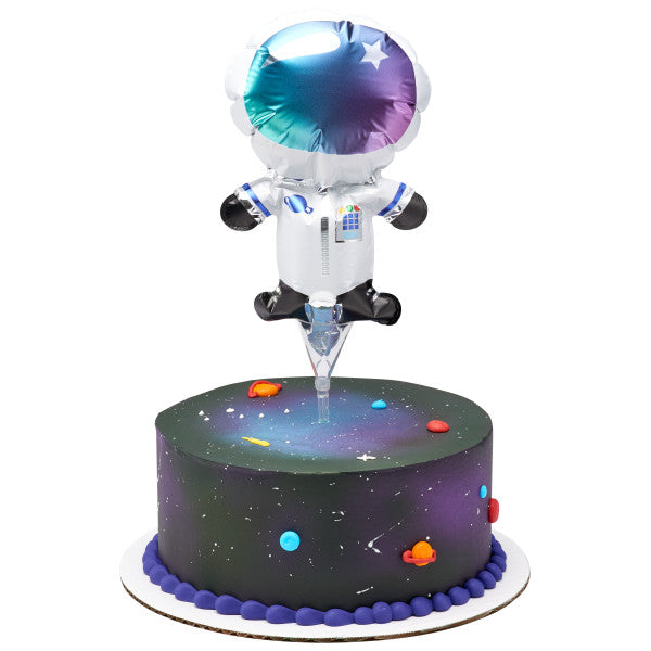Inflatable Astronaut Anagram® Cake Pic