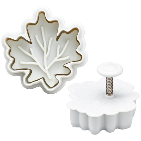 Maple Leaf, 1-Piece Set Cutters/Molds
