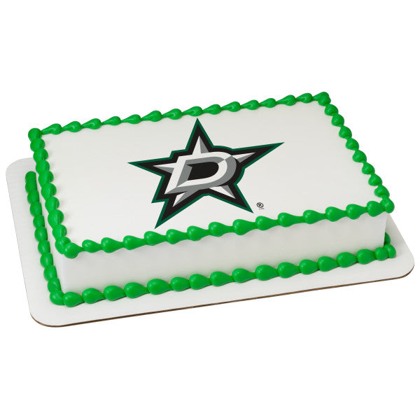 NHL® Dallas Stars Team Edible Cake Topper Image