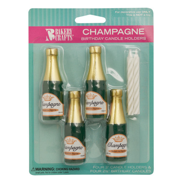 Champagne Bottle Candles