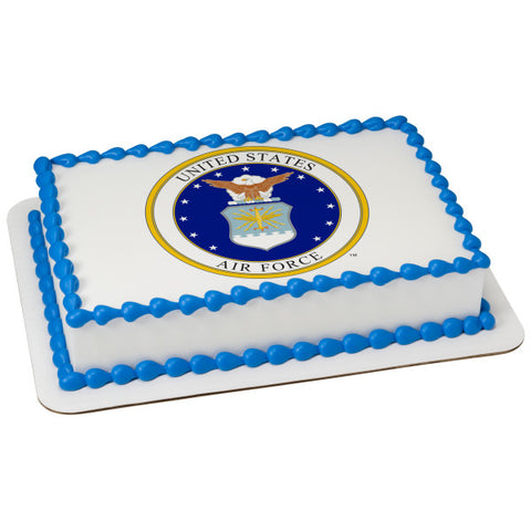 United States Air Force™ Edible Cake Topper Image