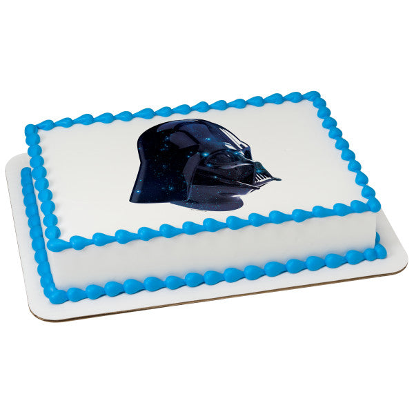 Star Wars™ Vader Galaxy Edible Cake Topper Image