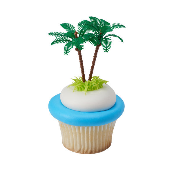 A Birthday Place - Cake Toppers - Palm Trees DecoPics®
