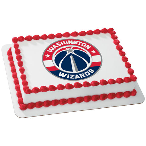NBA Washington Wizards Edible Cake Topper Image