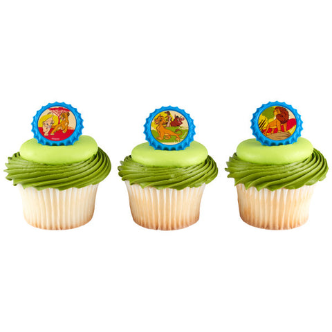 Disney The Lion King Pride Rock Cupcake Rings