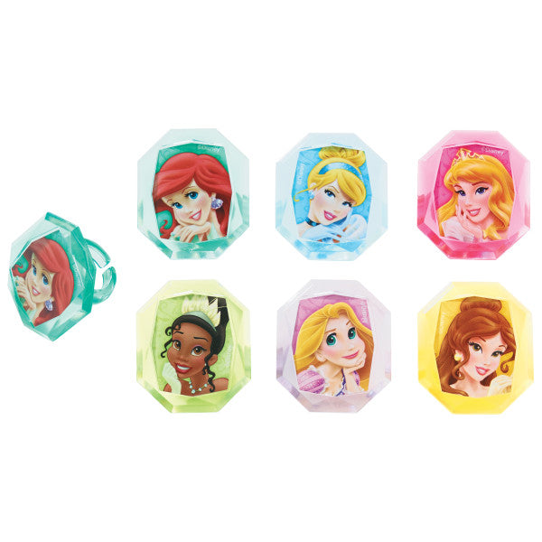 Disney Princess Gemstone Princesses Cupcake Rings
