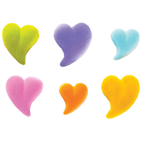 Teardrop Heart Assortment Dec-Ons® Decorations