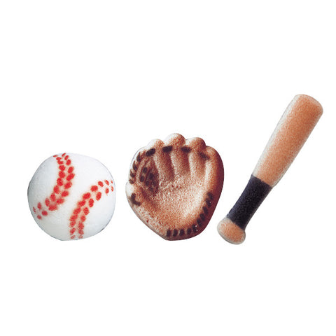 Baseball Assortment Dec-Ons® Decorations