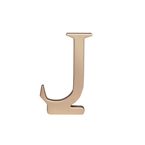 A Birthday Place - Cake Toppers - Letter J Monogram