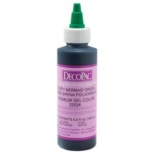 DecoPac Mermaid Green Premium Trend Gel Color