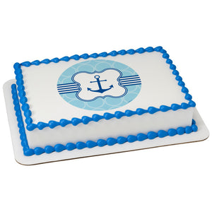 A Birthday Place - Cake Toppers - Anchor Edible Cake Topper Image