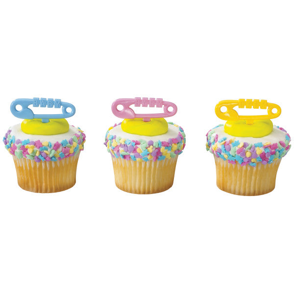 A Birthday Place - Cake Toppers - Baby Diaper Pins DecoPics®