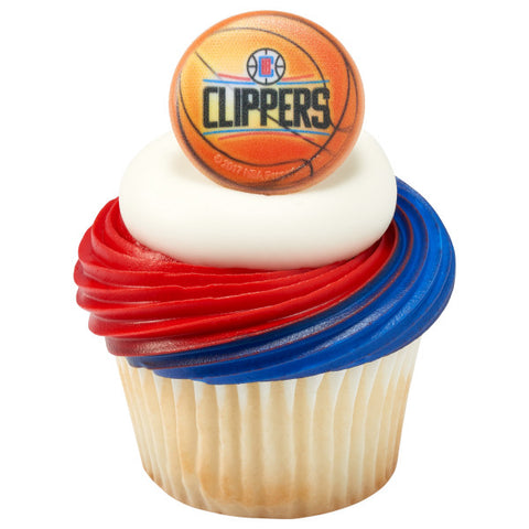 NBA Los Angeles Clippers Cupcake Rings
