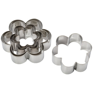 Daisy Pastry Cutter, 6 Piece Set Cutters/Molds