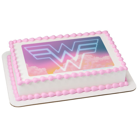 Wonder Woman™ 1984 Edible Cake Topper Image